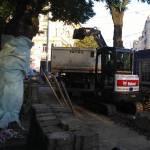 Obnova vodovodního řadu ulice Moskevská ( Praha )