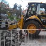 Rekonstrukce kanalizační přípojky ulice Moskevská ( Praha )