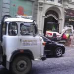 Rekonstrukce kanalizační přípojky ulice Nerudova ( Praha )